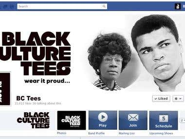 Logo + FB Header Image (Facebook cover image)
