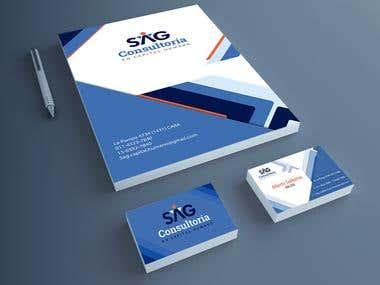 Diseño de brochures - SAG Consultoría en Capital Humano