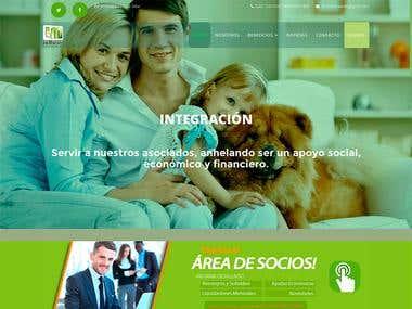 Diseño del portal web para lamutualdeempleados.org.ar