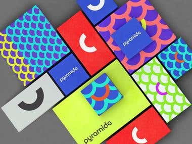Pyramida full redesigning and packaging