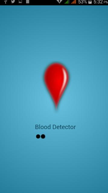 Blood Detector