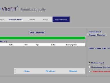 ViroFilT Pendrive Security