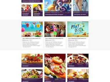 Design adn PSD2HTML for thailife