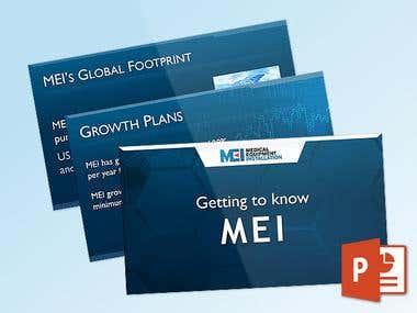 MEI PowerPoint Presentation