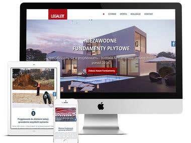 Legalett - strona firmowa systemów ogrzewania podłogowego