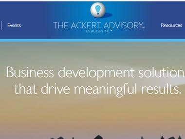 Ackert Advisory : https://www.ackertadvisory.com/