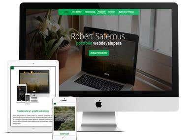 Portfolio web-developera