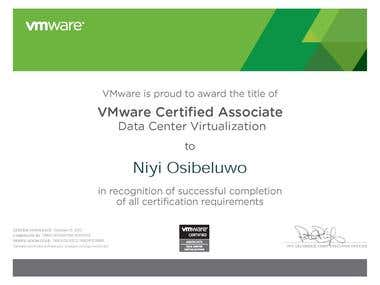 VMware Certified Associate Data Center Virtualization