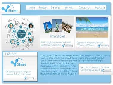Vshare Corporate website