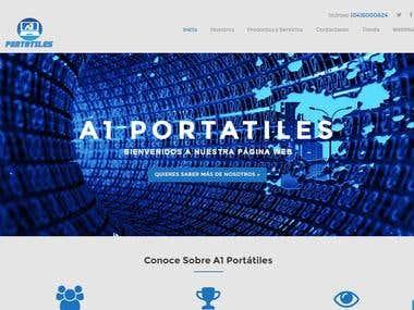 Diseño Web A1 Portatiles