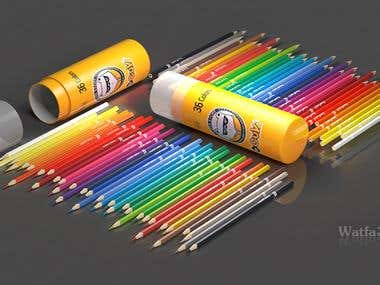 Product Design ColorPencilSet