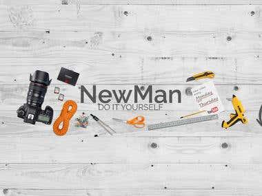 NewMan DIY Cover