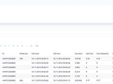 Vo-ip billing system