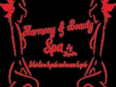 Diseño Logotipo Harmony&BeautySpa