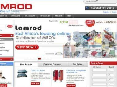 MultiCart System: www.lamrod.com