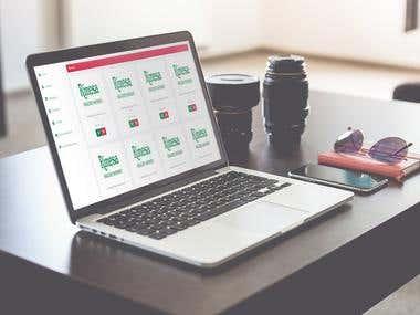 Extranet para gestión de productos y uso por comerciales