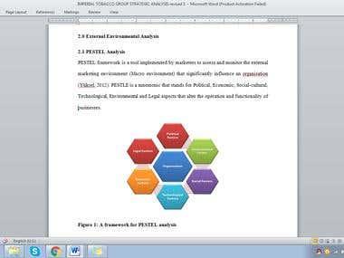 Imperial Tobacco Company Strategic Analysis