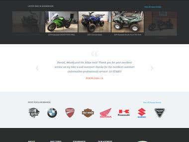 Redesign DNA MOTOR LAB website using WordPress