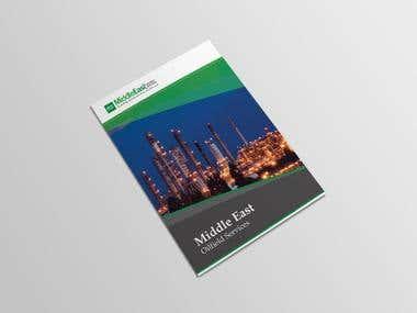 "Brochure Design For ""Oil Field Services."""