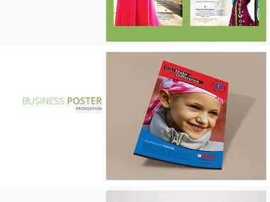 Flyer, Poster and Brocure Design