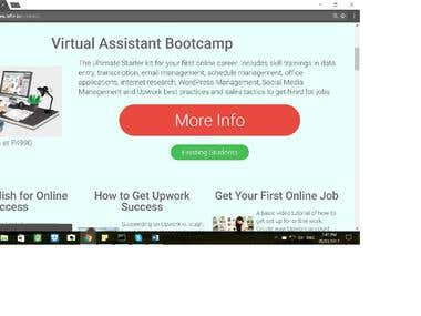 Virtual Assistant Boot Camp