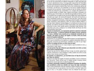 Entrevista a la artista plástico Elisa Abadí