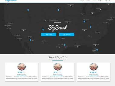 DJ Freelance Website