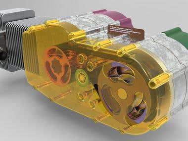 Rotary Valve Engine