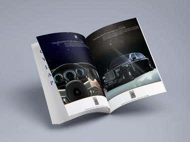 Rolls Royce Magazine Ad