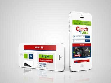 Catch4Less - Responsive Magento Ecommerce