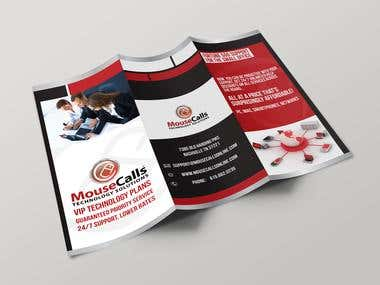 MouseCalls Tri-fold Brochure