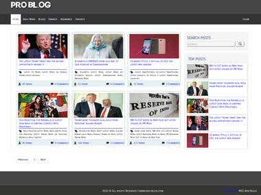 Blog Website http://www.dailyblog.info
