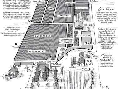 Hoffman Farms Store Map