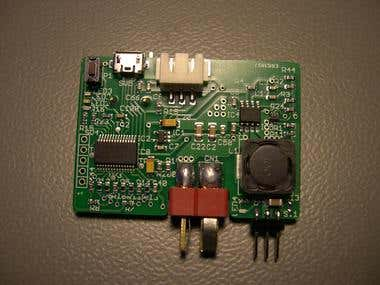 Microchip PIC18f25K50 pid motor control firmware + hardware