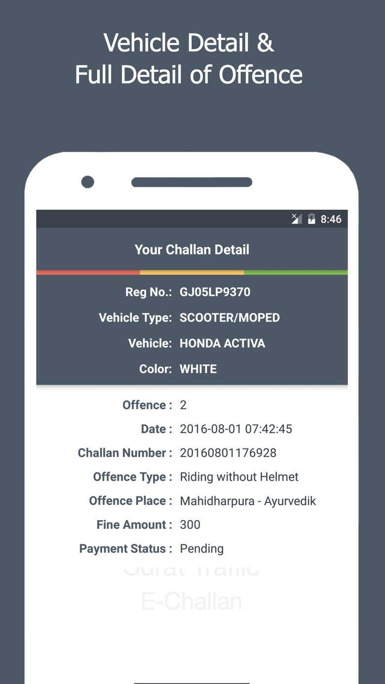 Surat Traffic E-Challan   Freelancer