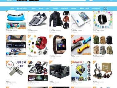 wish - The online Store In woocommerce