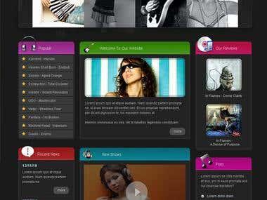 Mp3 Website
