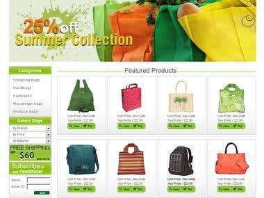 eCommer creative design