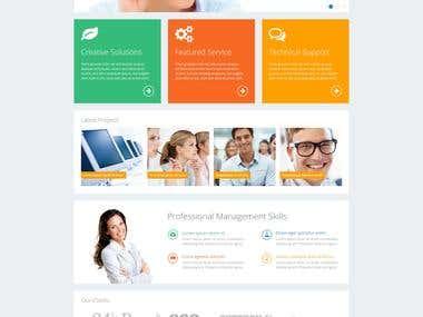 New Website in Wordpress