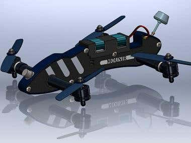 3d model using solidworks 2014