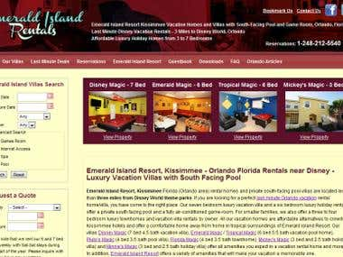 EmeraldIslandRentals.com (a vacation rental website)