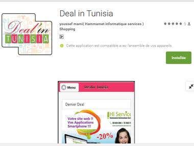 application android Deal in Tunisia