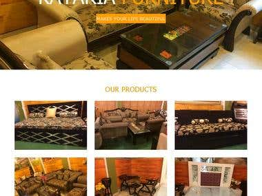 Kataria Furniture   A website for Business