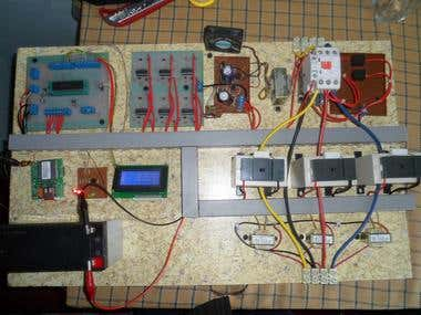 GSM Enabled Transformer Protection Panel