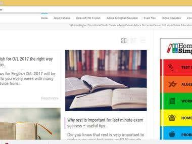 Google AdSense for Website