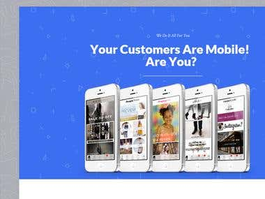 Ecommerce 2 App - Mobile Web Design Experts Business