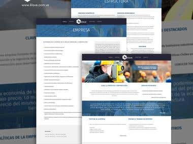 Website | Clave / Construction Services