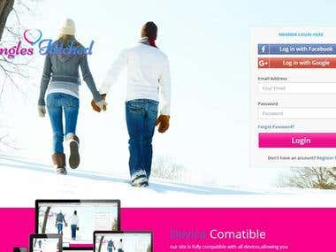 Singles Hitechd Online dating Website with Android & IOS