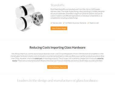 ExaktGlass - Glass Hardware and Railing System