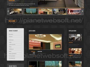 Interior Designing Site